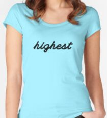 Highest Women's Fitted Scoop T-Shirt
