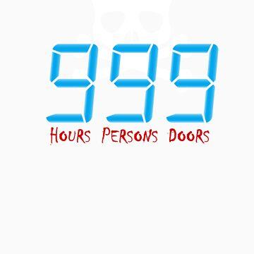 Hours, Persons, Doors by sleepykiks