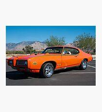 "1969 Pontiac GTO ""The Judge"" Photographic Print"