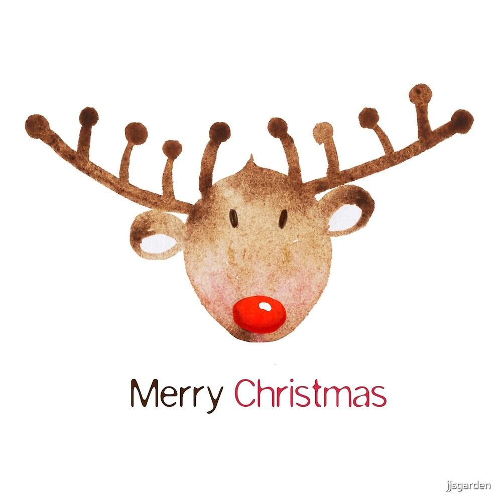 Rudolph the reindeer  by jjsgarden