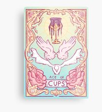 Ace of Cups Metal Print