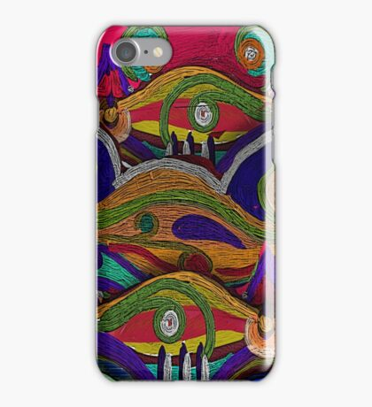 Hills of Norway, by Alma Lee iPhone Case/Skin