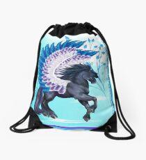 Mochila saco Blue Winged Pegasus