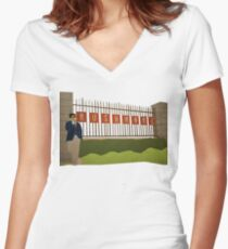 Rushmore Women's Fitted V-Neck T-Shirt
