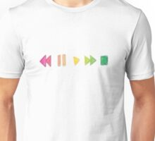 Fast forward to pause play Unisex T-Shirt