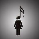 Music Girl  by Kitty Bitty