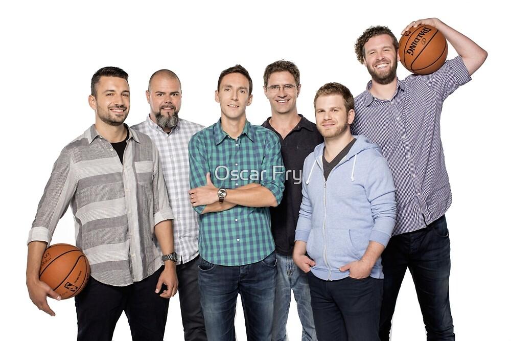The whole crew by Oscar Fry