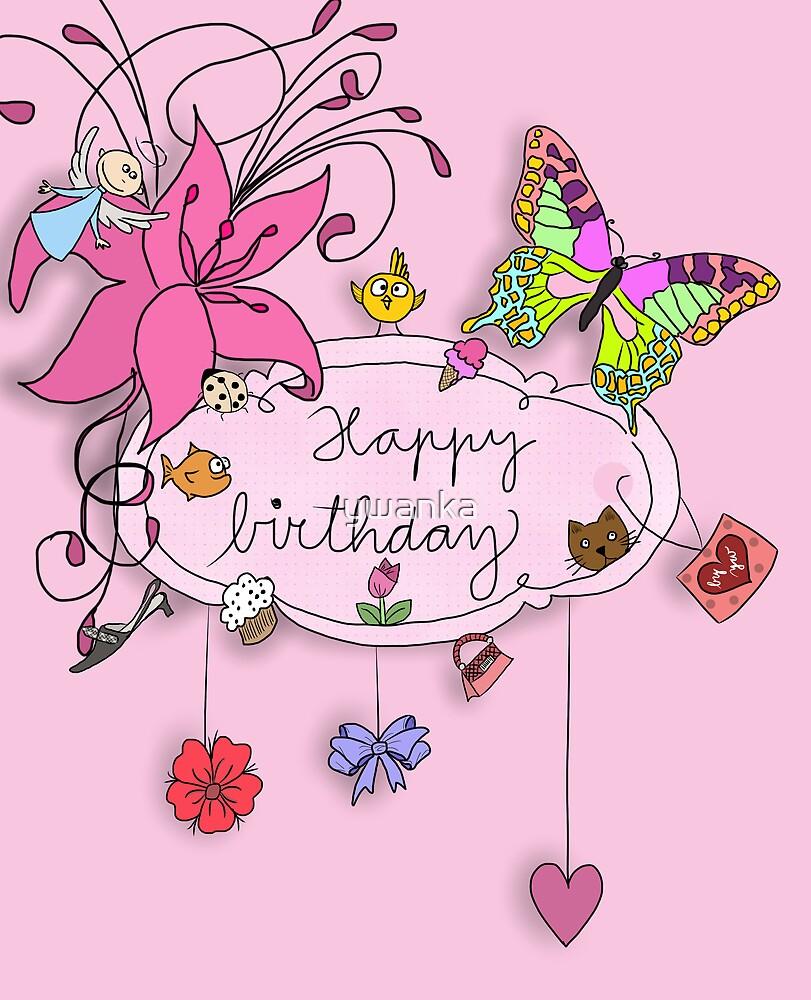 Happy birthday by ywanka