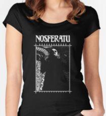 Masquerade Clan: Nosferatu Retro Women's Fitted Scoop T-Shirt