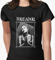 Masquerade Clan: Toreador Retro Womens Fitted T-Shirt