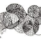 Swish tangle by Vickie Simons