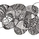 Ellia tangle by Vickie Simons