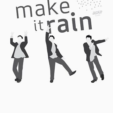 """I will make it rain"" HIMYM by gdfStudio"