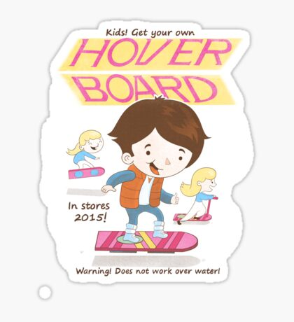 Get your own Hoverboard Sticker