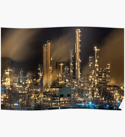 Grangemouth Refinery (2) Poster