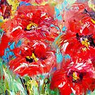 Abstract poppys  by artistpixi