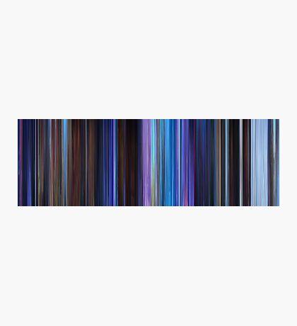Moviebarcode: Frozen (2013) Photographic Print