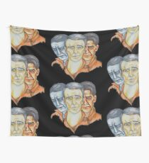 Twisted Barbershop Wall Tapestry