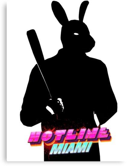 Hotline Miami Graham Silhouette  by jimlacube
