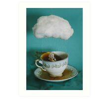 storm in a teacup no.3 Art Print