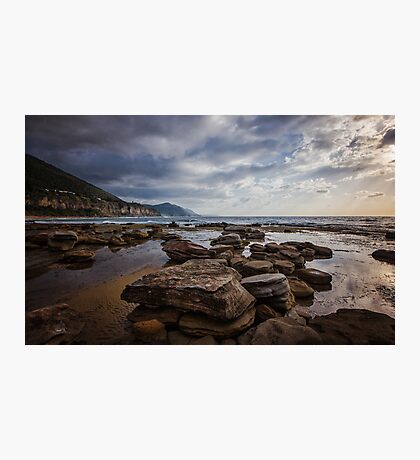 Coalcliff Rocks Photographic Print
