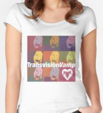 transvision vamp Women's Fitted Scoop T-Shirt