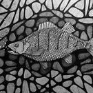251 - PERCH - DAVE EDWARDS - INK - 2014 by BLYTHART