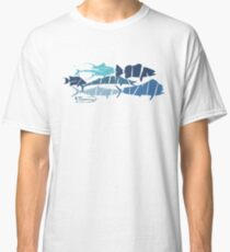 Fish collage ripped  Classic T-Shirt