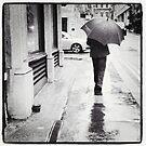 Walking in Rain by Mary Ann Reilly