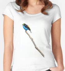 Perched Women's Fitted Scoop T-Shirt