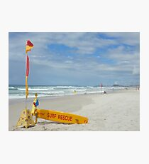Surf Rescue Photographic Print