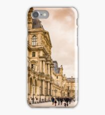 Palais Du Louvre Sunset iPhone Case/Skin