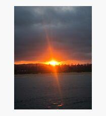 Narooma Sunset Photographic Print