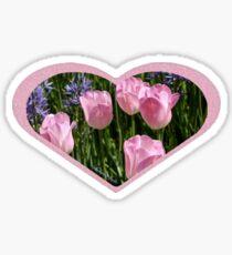 Tulips ~ Dancing in the Sunlight Sticker