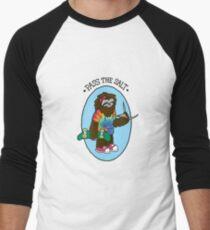 Pass The Salt - Stoner Sloth Men's Baseball ¾ T-Shirt