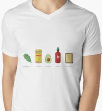 What Vegans Eat Men's V-Neck T-Shirt