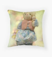 Hoppy, hoppy Spring! Throw Pillow