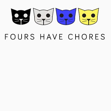 Fours Have Chores - Level 4 MeowMeowBeenz by lashy1089
