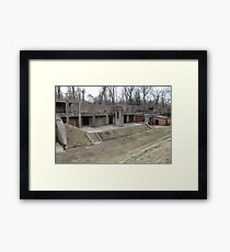 Battery Mount Vernon Framed Print