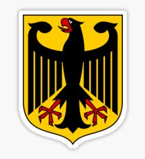 Coat of Arms of Germany  Sticker