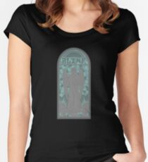 Church of Blink Women's Fitted Scoop T-Shirt