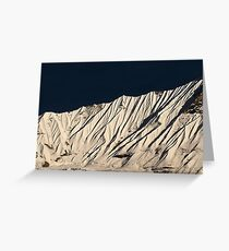 Mountain Veins  Greeting Card