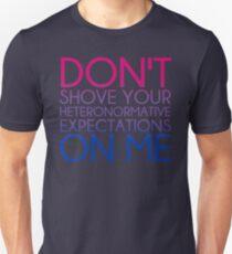 Heteronormative Expectations (bi) T-Shirt