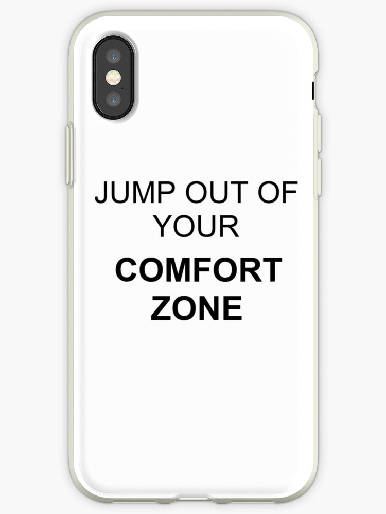 Jump out of your comfort zone! by jiatong lin