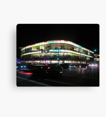 Neon Mall Canvas Print