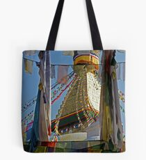 Boudnath Stupa Tote Bag