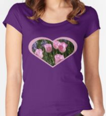 Tulips ~ Dancing in the Sunlight Women's Fitted Scoop T-Shirt