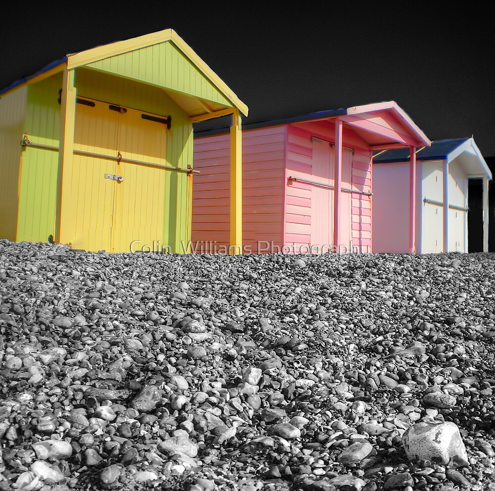 Beach Huts - Shoreham - West Sussex by Colin  Williams Photography