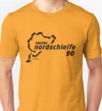 HGTM Nordschleife 90 logo gold Unisex T-Shirt