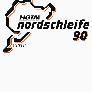 HGTM Nordschleife 90 logo gold by RlyRbshRacing